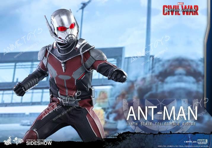 HOT TOYS – MARVEL – CAPTAIN AMERICA  Civil War – Ant-Man – Movie ... 8b3c91f58efc
