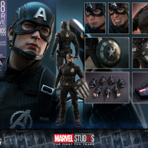 HOT TOYS – Captain America (Concept Art Version) – 2018 Toy Fair Exclusive  – 1 6 Scale f2fc64c40ccd
