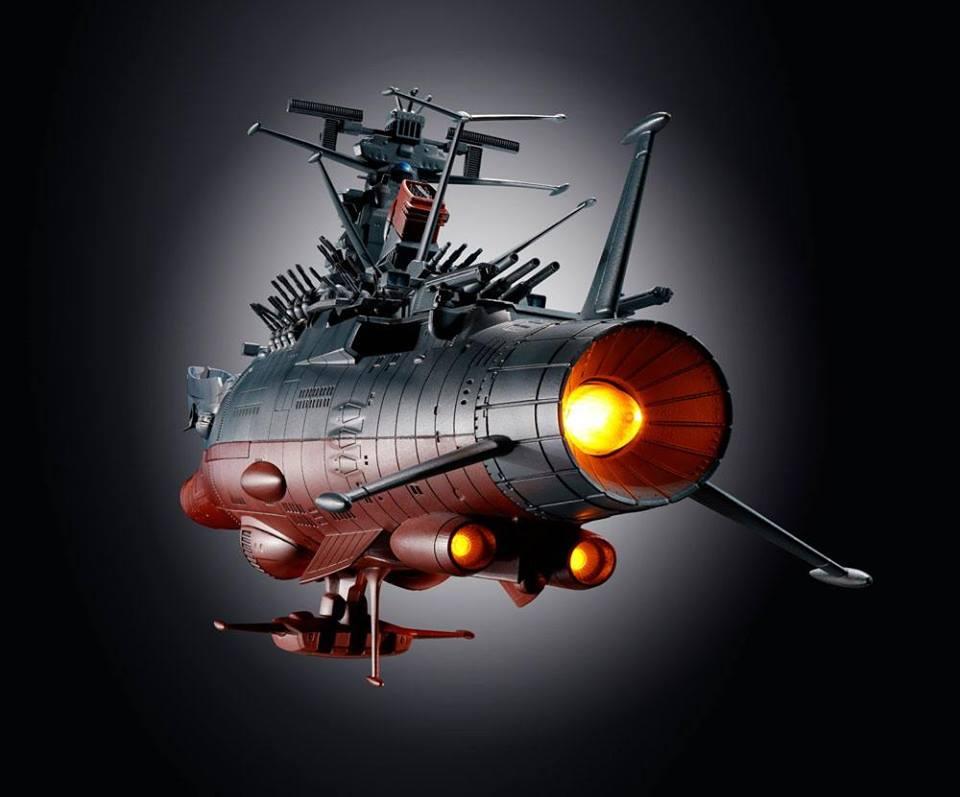 BANDAI – SOUL OF CHOGOKIN – GX-86 – Space Battleship ...