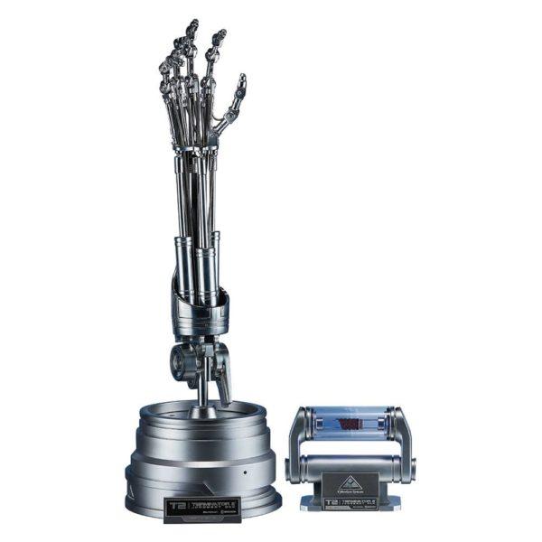BLITZWAY - TERMINATO 2 Judgment Day - T-800 Endoskeleton Arm & Brain Chip Set - The Real Replica - 1