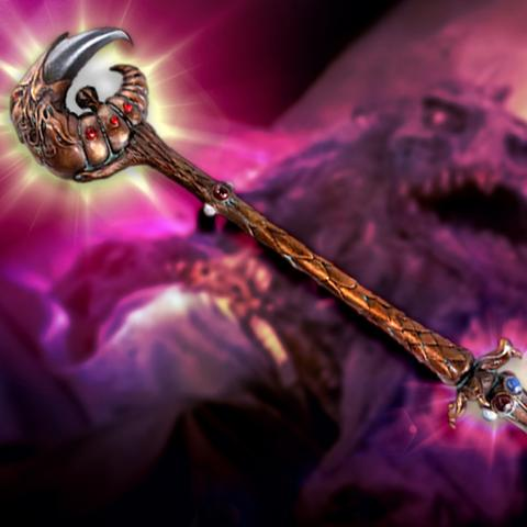 CHRONICLE COLLECTIBLES - THE DARK CRYSTAL - The Dark Crystal Emperor's Scepter - Replica - 2