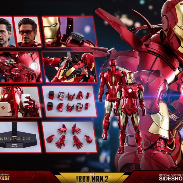 HOT TOYS – IRON MAN 2 – Iron Man Mark IV - DIECAST Movie Masterpiece - 7