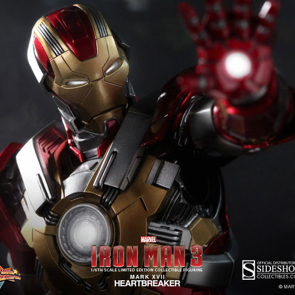 HOT TOYS – IRON MAN 3 – Iron Man Mark 17 Heartbreaker – Movie Masterpiece - 4
