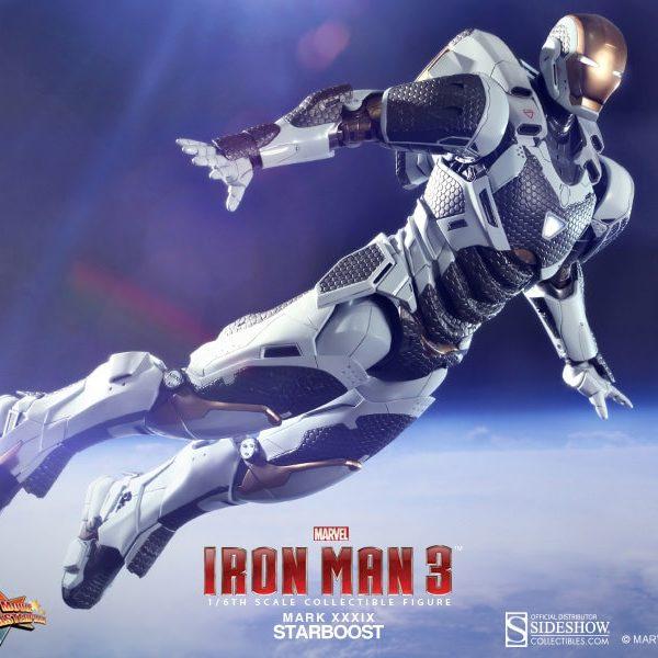 HOT TOYS – IRON MAN 3 – Mark XXXIX Starboost – Movie Masterpiece - 6