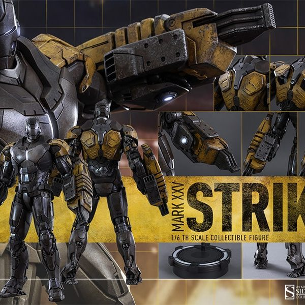 HOT TOYS – IRON MAN 3 – STRIKER Mark XXV (Mark 25) – Movie Masterpiece - 6