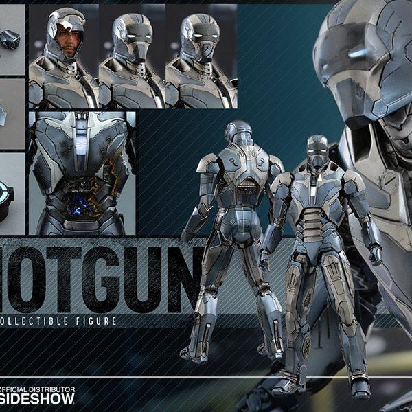 HOT TOYS – MARVEL – IRON MAN 3 - Shotgun (Mark XL) – Movie Masterpiece - 8