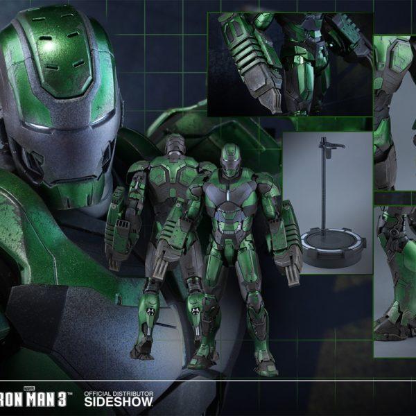 HOT TOYS EXCLUSIVE - MARVEL - IRON MAN 3 - Iron Man Mark XXVI – Gamma - 10