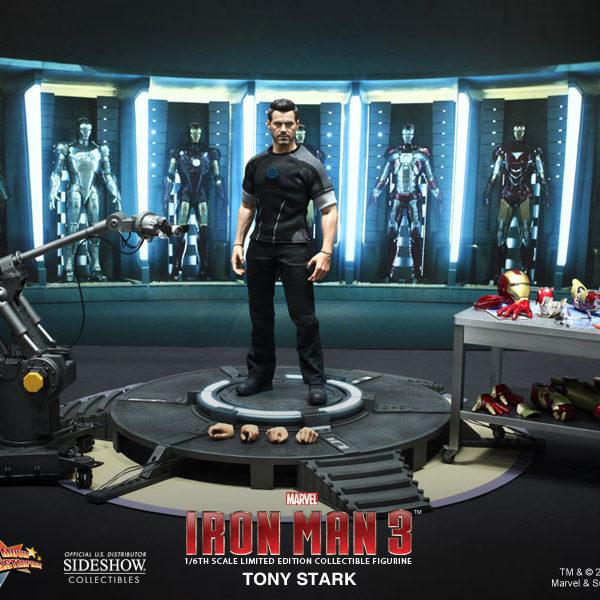 HOT TOYS - IRON MAN 3 - Tony Stark - Movie Masterpiece - 13