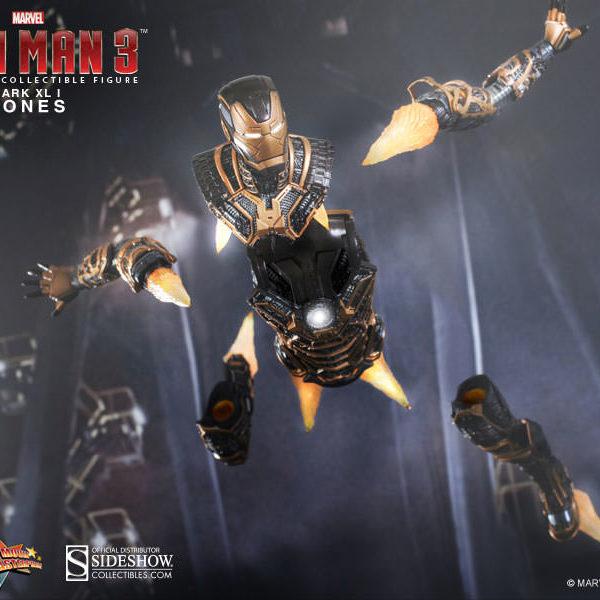 HOT TOYS - MARVEL - IRON MAN 3 - Iron Man Mark XLI Bones - Movie Masterpiece - 7