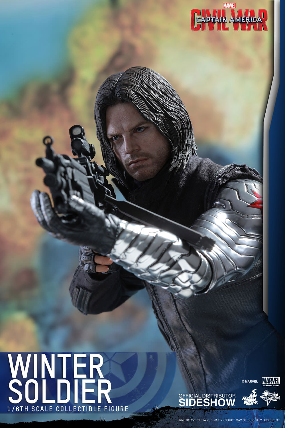 HOT TOYS – MARVEL – Captain America  Civil War – Winter Soldier – Movie  Masterpiece – Animetoys 851a655edc75
