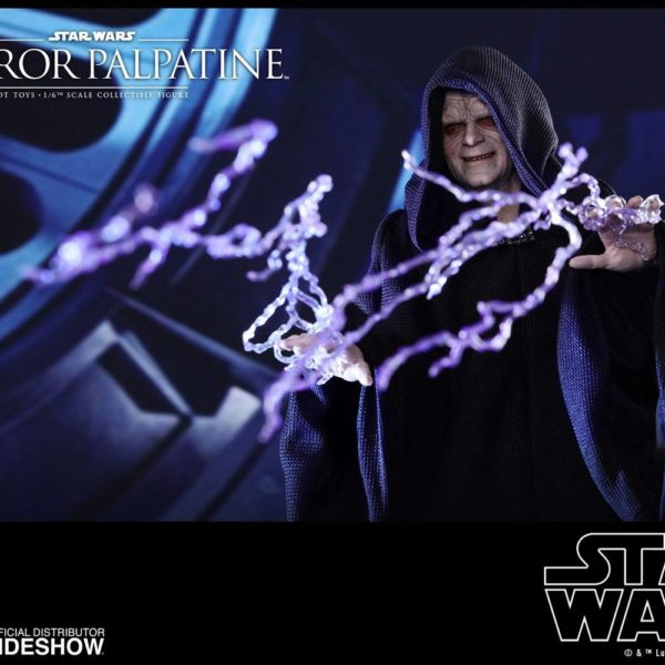 HOT TOYS - STAR WARS – Episode VI: The Return of the Jedi - Emperor Palpatine - Movie Masterpiece - 1