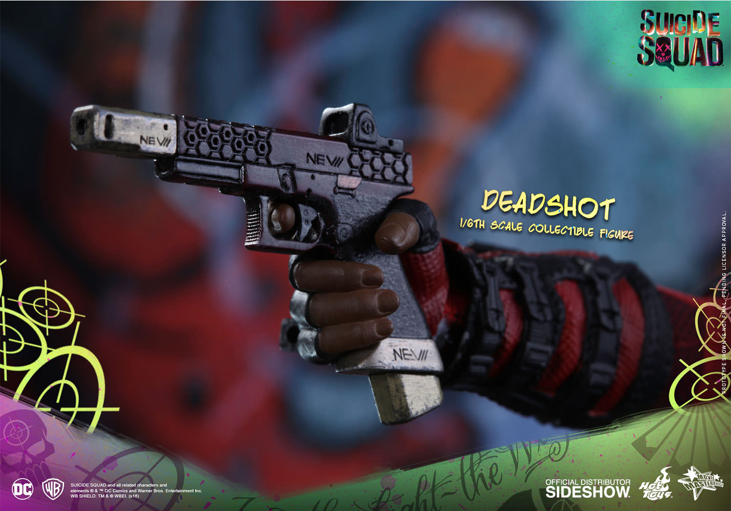 HOT TOYS - SUICIDE SQUAD - Deadshot - Movie Masterpiece