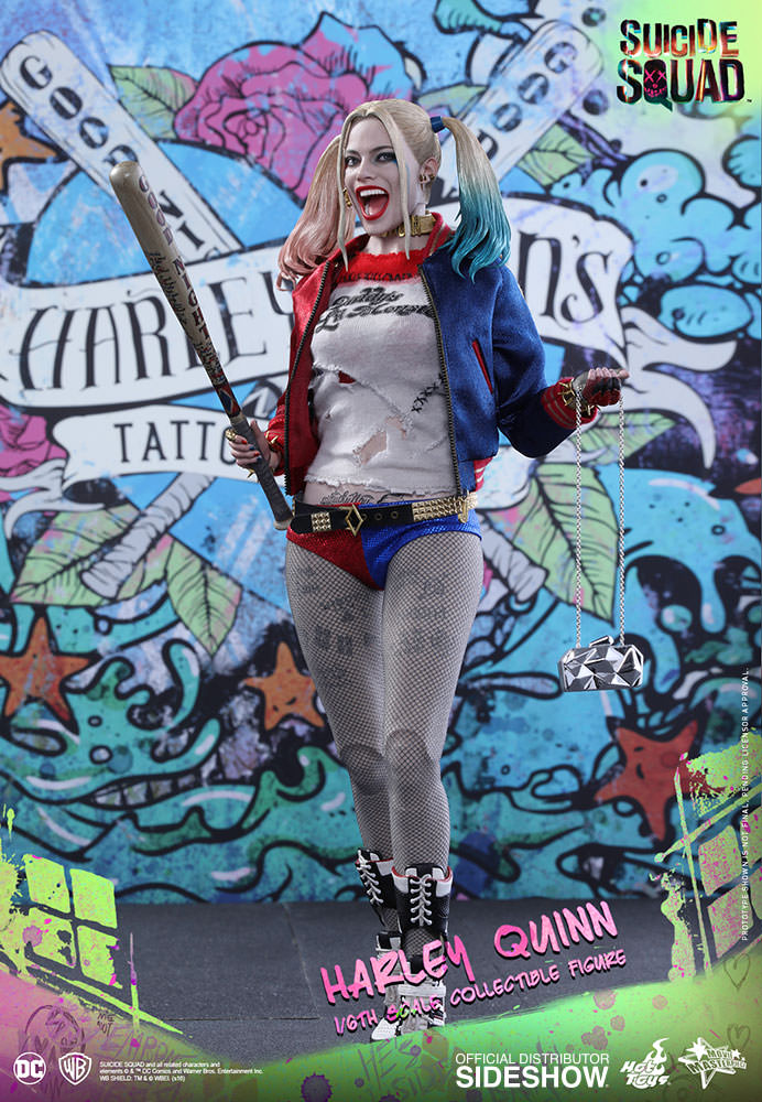 HOT TOYS - SUICIDE SQUAD - Harley Quinn - Movie Masterpiece