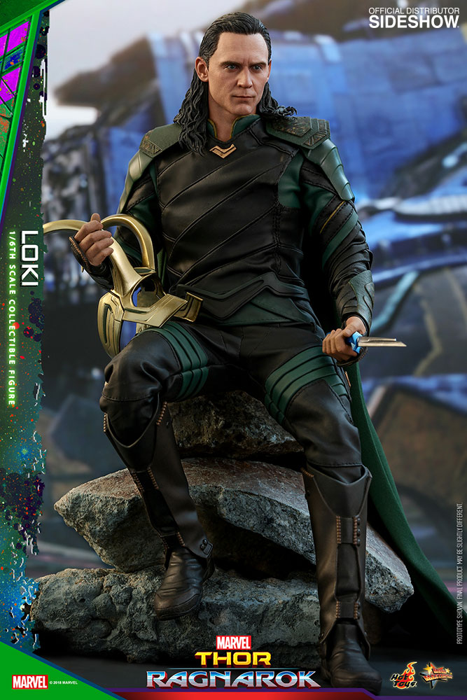 Marvel Thor 3 Ragnarok Loki Statue PVC Figure Collectible Model Toy