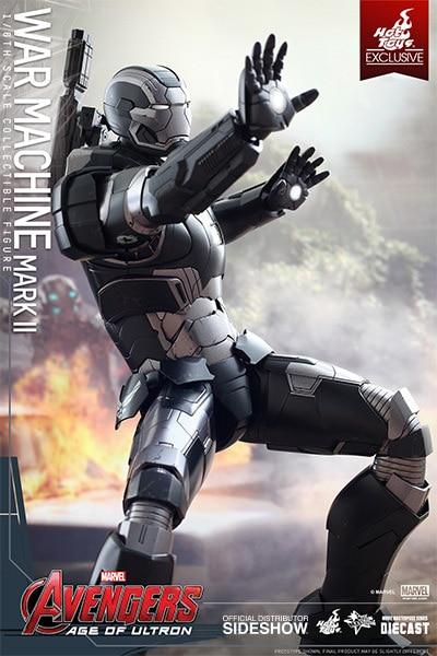 "HOT TOYS – AVENGERS ""AGE OF ULTRON"" – War Machine Mark II – DIECAST Movie  Masterpiece"