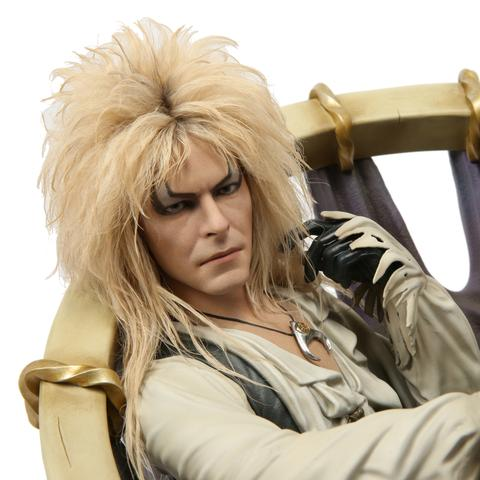 CHRONICLE COLLECTIBLES - LABYRINTH - Jareth on the Throne - Statue - 5
