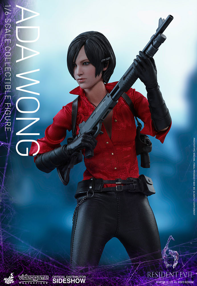 """1//6 Scale Resident Evil 6 Ada Wong Head Sculpt for 12/"""" Action Figure"""