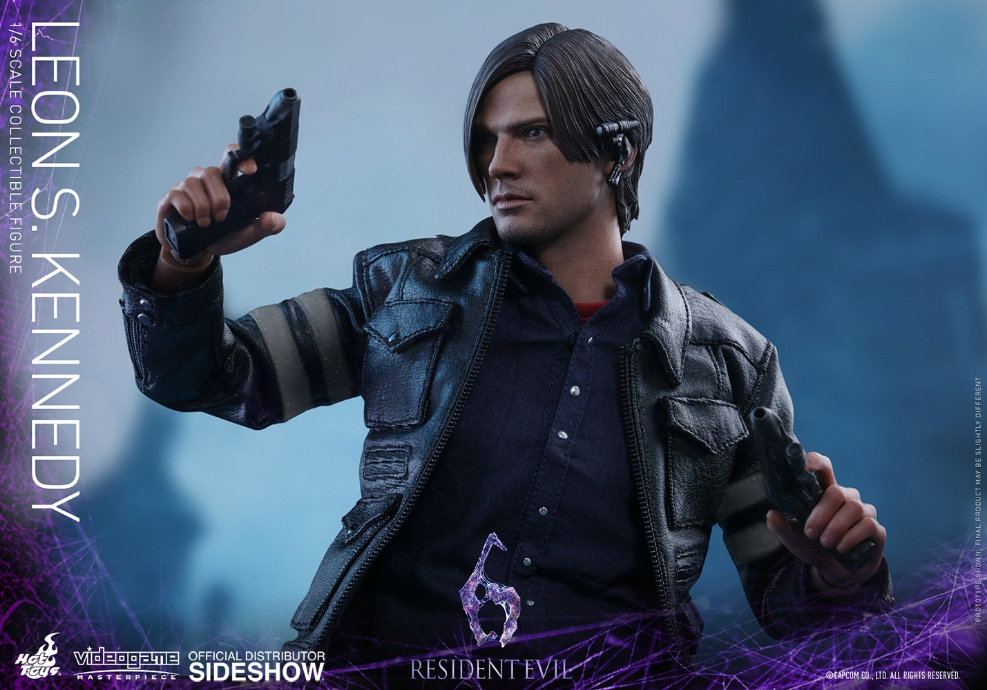 Hot Toys Resident Evil 6 Leon S Kennedy Videogame Masterpiece