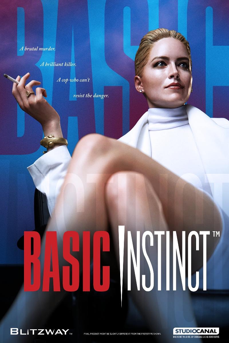 Blitzway Basic Instinct 1992 Sharon Stone Catherine Tramell 1 4 Scale Figure Animetoys