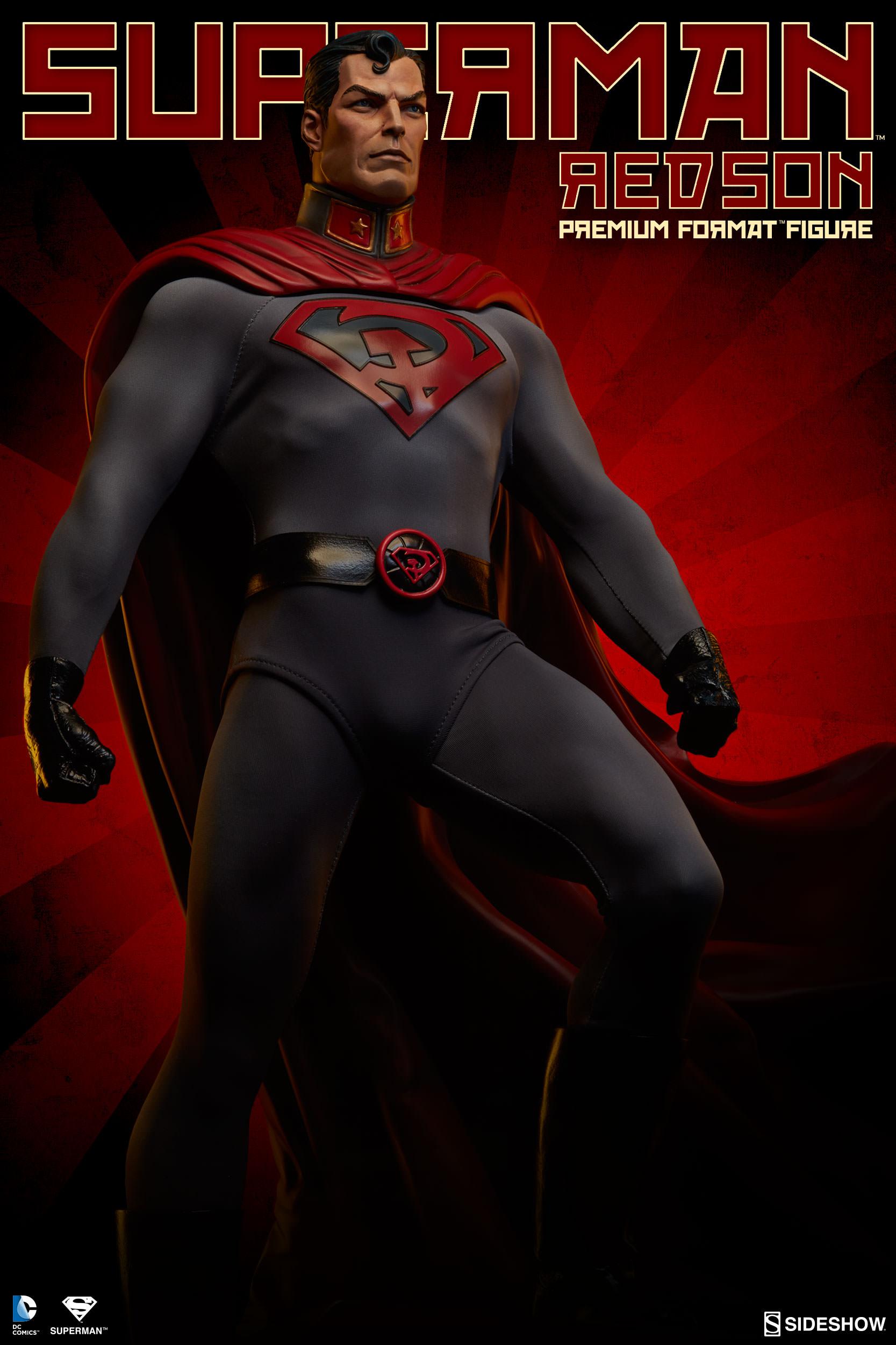 Medicom 1//6 Justice League Superman RED SON SOVIET UNION  Man of Steel MIB