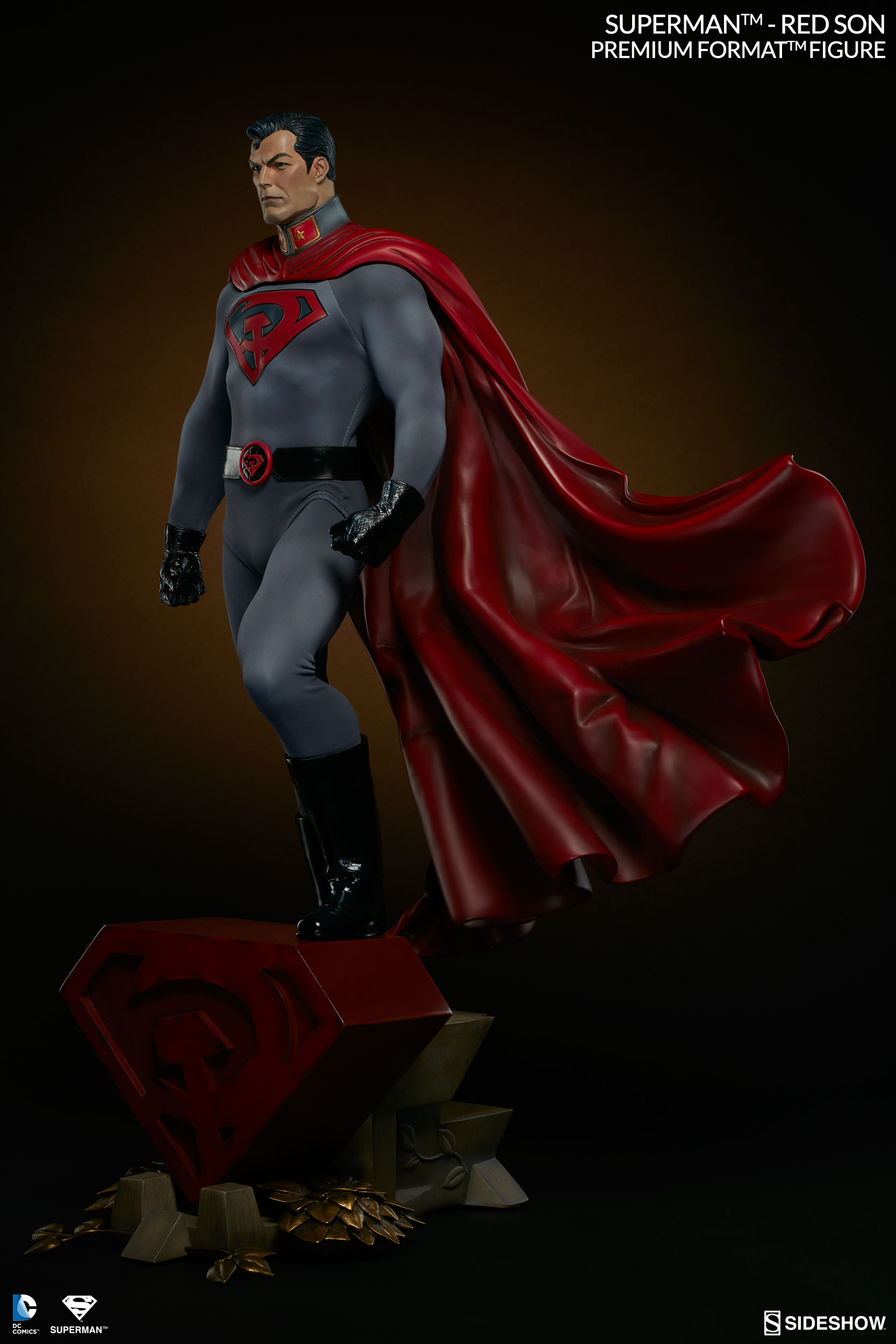 Sideshow Dc Comics Superman Red Son Premium Format Figure 1 4 Animetoys