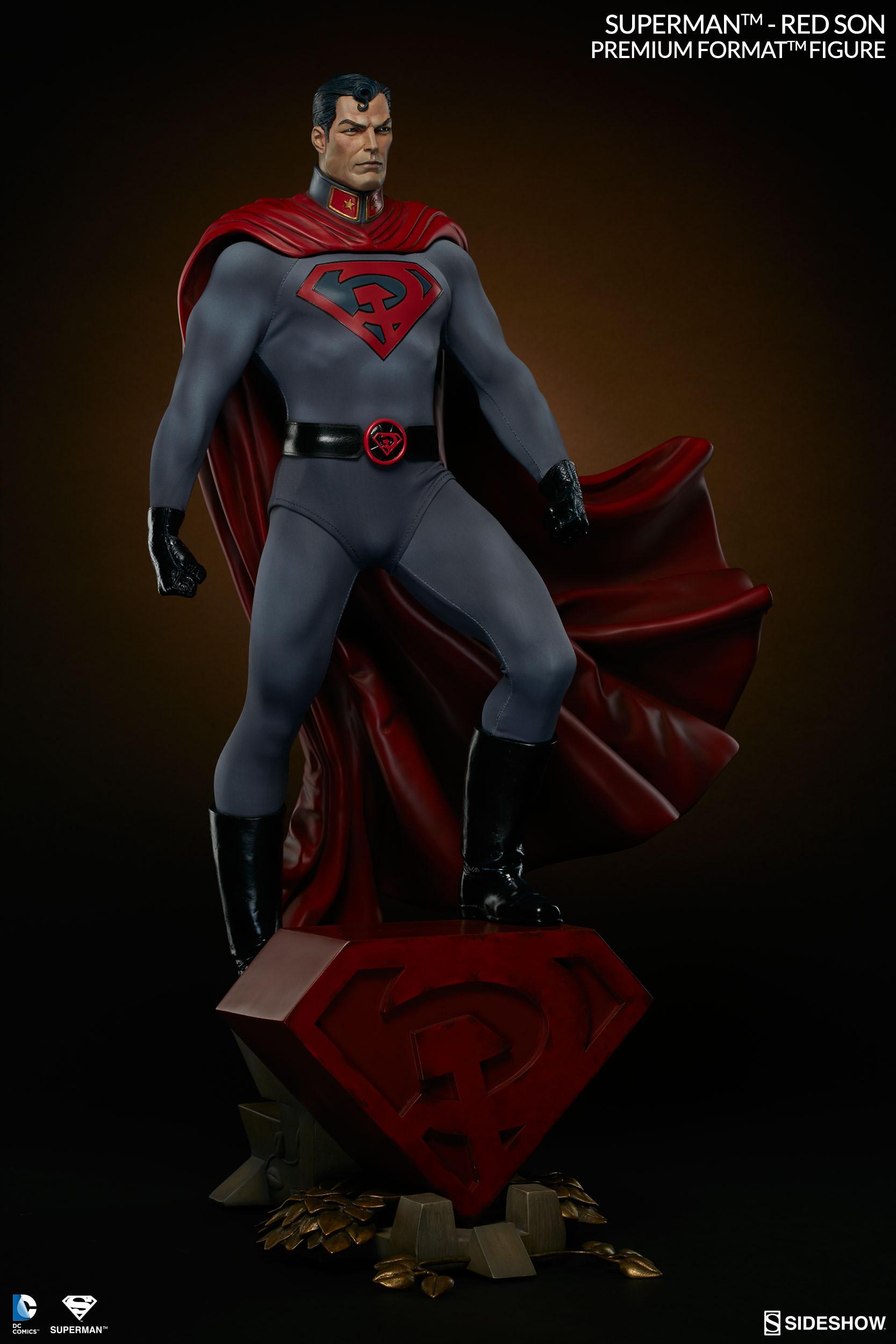 Sideshow Dc Comics Superman Red Son Premium Format Figure 1 4 Animetoys