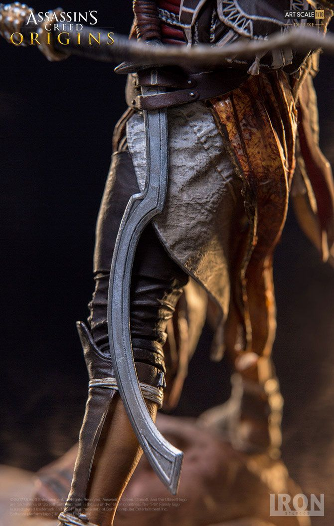 Iron Studios Assassin S Creed Origins Bayek 1 10 Statue Animetoys