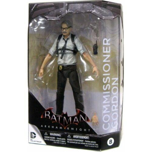 Batman Arkham Knight Commissioner Gordon Action Figure