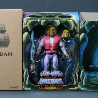 Super7 Masters of the Universe Classics Club Grayskull Prince Adam 18 cm Wave 4