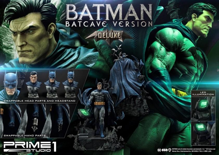 Prime 1 Studio Dc Comics Batman Hush Deluxe Batcave Batman 1 3 Statue Animetoys
