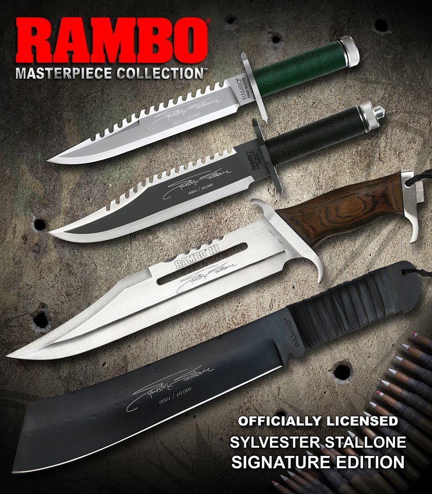 HOLLYWOOD COLLECTIBLES – JOHN RAMBO – 1/1 Knife Replica ...
